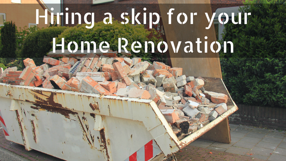 hiring a skip for your home renovation skips preston. Black Bedroom Furniture Sets. Home Design Ideas