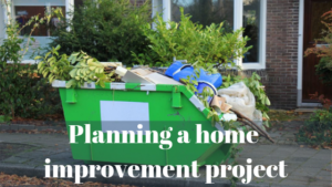 Planning a home improvement project