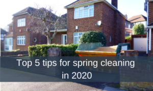 Top 5 tips for spring cleaning in 2020